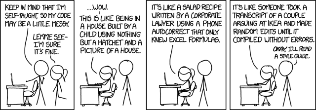 xkcd: Code quality
